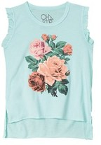 Chaser Girls' Victorian Roses Tank.