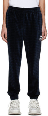 Études Navy Velvet Major Lounge Pants