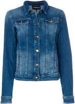 Emporio Armani faded denim jacket