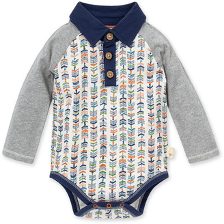 Burt's Bees Baby Trail Markers Organic Cotton Polo Bodysuit