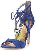 Sam Edelman Azela Strappy Tassel Sandal, Sailor Blue