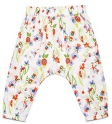 Margherita Infant Girl's Floral Print Pants