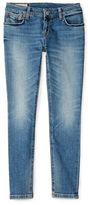 Ralph Lauren Girls 7-16 Bowery Faded Jeans