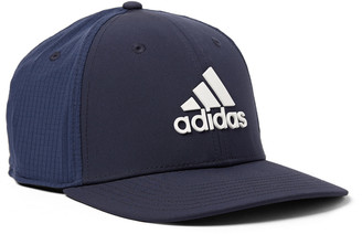 adidas Golf Tour Logo-Appliqued Shell And Mesh Baseball Cap
