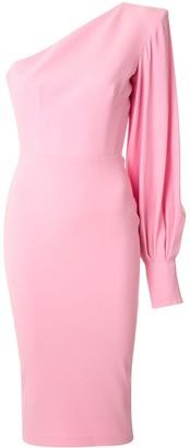 Alex Perry Warner one-sleeve dress