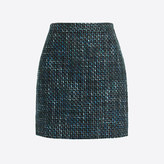 J.Crew Factory Tweed mini skirt