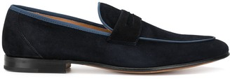 Stemar Grosgrain-Piped Loafers