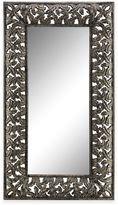 Stein World Flora Floor Mirror in Antiqued Silver