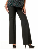 A Pea in the Pod Secret Fit Belly® Bi-stretch Suiting Back Pockets Boot Cut Maternity Pants