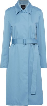 Theory Cotton-twill Trench Coat