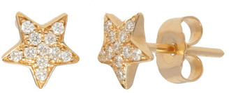 Nephora 14K 0.11 Ct. Tw. Diamond Star Studs