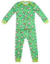 BedHead Gone Bananas Pajama Shirt & Pants, Green, Size 3-24 Months