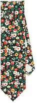 The Hill-Side Small Flower Print Tie