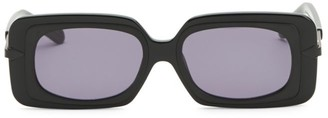 Karen Walker 51MM Mr. Binnacle Black Sunglasses