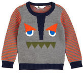 Petit Lem Boys 2-7 Magical Mischief Face Graphic Sweater