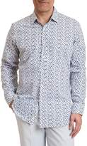 Robert Graham Snapshot Regular Fit Camera Print Sport Shirt
