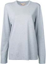 Michael Kors crew neck sweatshirt - women - Cotton - XS