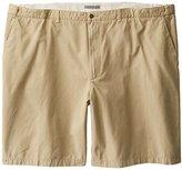 Geoffrey Beene Men's Big & Tall Flat-Front Extended-Waist Short