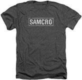 SOA Sons of Anarchy TV Show Samcro Adult Heather T-Shirt Tee