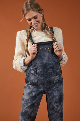 Anthropologie Wanderer Relaxed Overalls By in Blue Size 25