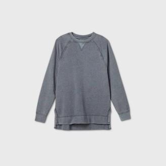 Universal Thread Women's Crewneck Fleece Tunic Sweatshirt - Universal ThreadTM