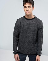 Brave Soul Crew Neck Knitted Jumper