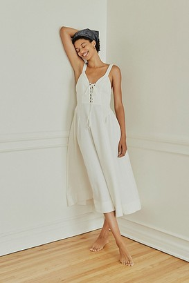 The Endless Summer Lucy Lace Up Dress