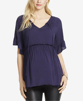 Jessica Simpson Maternity Empire-Waist Blouse