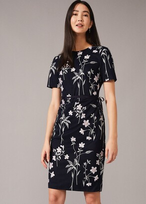 Phase Eight Kirsty Floral Fitted Dress