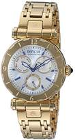 Invicta Women's 'Subaqua' Quartz Stainless Steel Casual Watch, Color:Gold-Toned (Model: 24428)