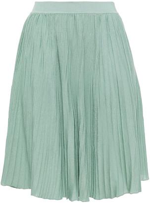 Missoni Ribbed Cotton Mini Skirt