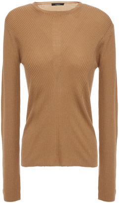 Theory Ribbed Wool Top