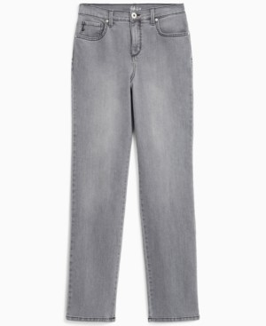 Style&Co. Style & Co. High-Rise Straight-Leg Jeans, Created for Macy's