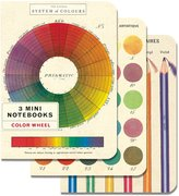 Cavallini NBCW/MINI Papers Color Wheel Mini Notebooks 4 x 5.5""