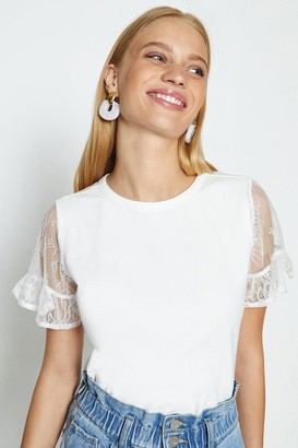 Coast Short Sleeved Lace T-Shirt