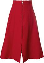 Fendi a-line midi skirt