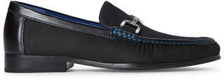 Donald J Pliner Black Niles Loafers
