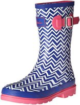 Joules JNR Girls Welly Rain Boot (Toddler/Little Kid/Big Kid)