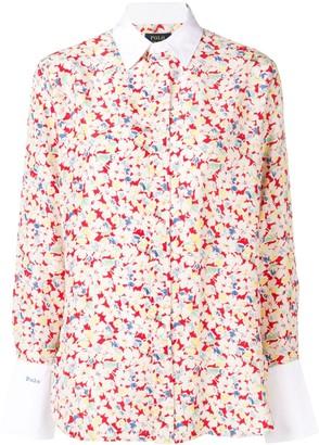 Polo Ralph Lauren Sakura print shirt