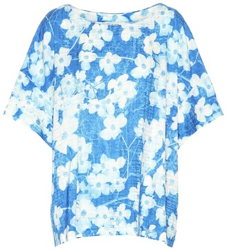 Dries Van Noten Floral cotton-blend top