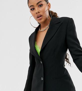 Asos Tall ASOS DESIGN Tall pop waisted suit blazer
