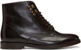 A.P.C. Brown Frances Boots