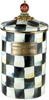 Mackenzie Childs MacKenzie-Childs - Courtly Check Enamel Canister - Tartan - Large
