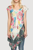 Johnny Was Tropical Flower Tunic