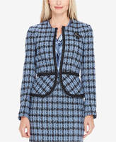 Tahari ASL Embellished Tweed Blazer