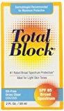 Fallene Fallene Total Block UVA/UVB Complete Broad Spectrum Sun Protection, SPF 65 Clear, 2 fl Ounces (59 ml)