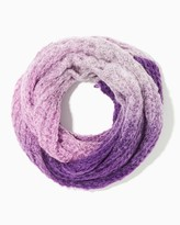 Charming charlie Ombre Lattice Infinity Scarf