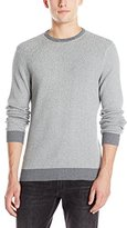 Vince Camuto Men's Crew Marled Sweater