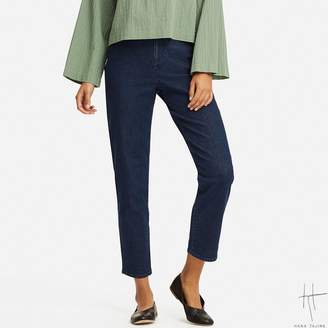 Uniqlo WOMEN HPJ Denim Tapered Ankle Pants