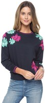 Juicy Couture Baltic Floral Emb Pullover